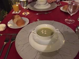 淀江町人参とブロッコリー長ネギのスープ